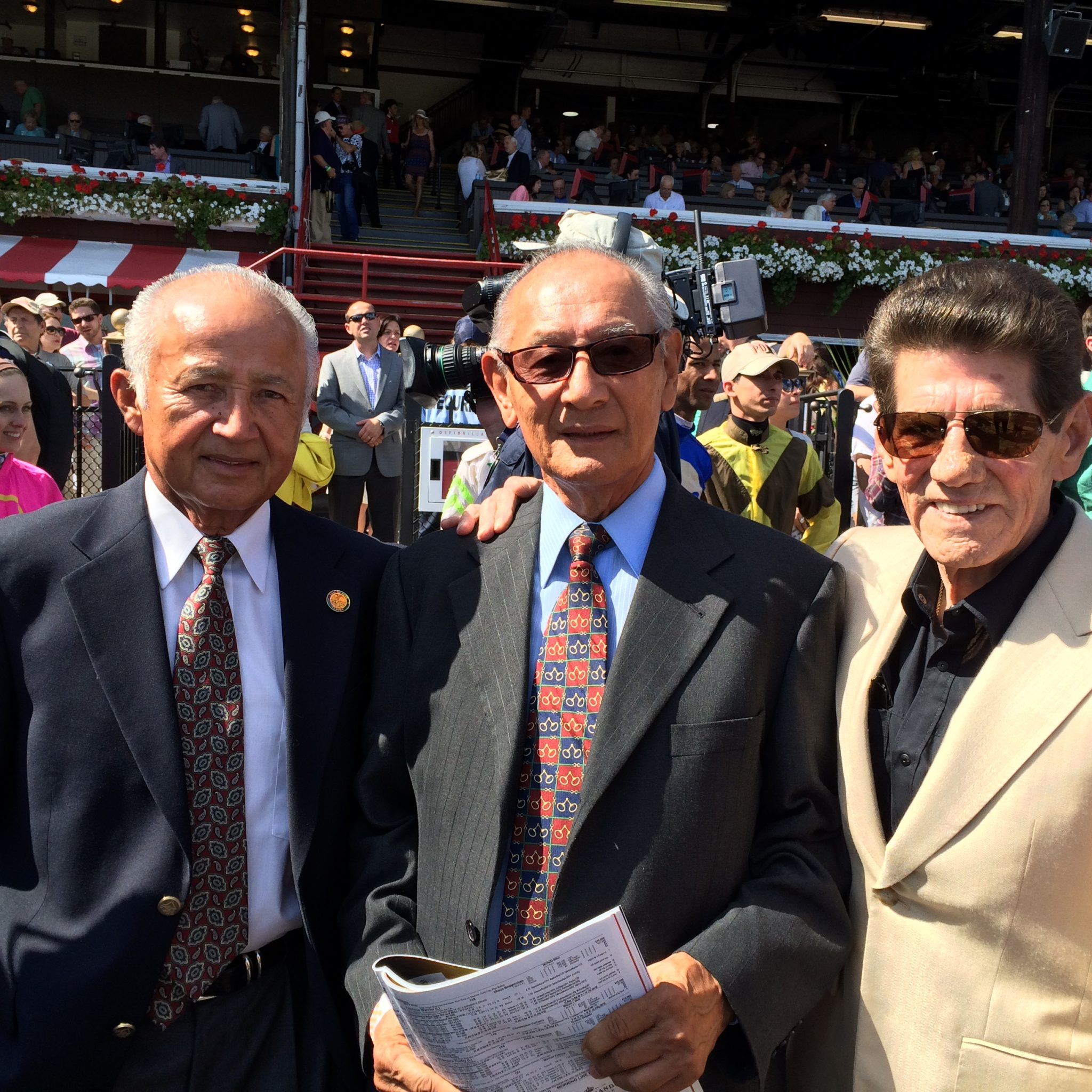 Vasquez, Baeza, Ycaza at Saratoga