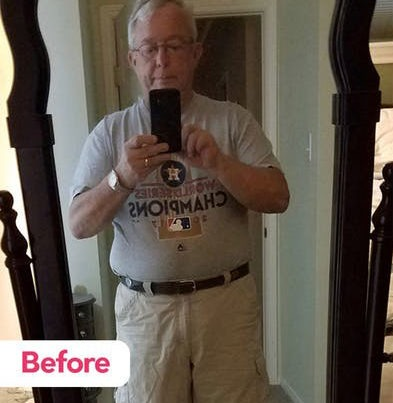 Richard Before The Keto Diet Equines and Animals