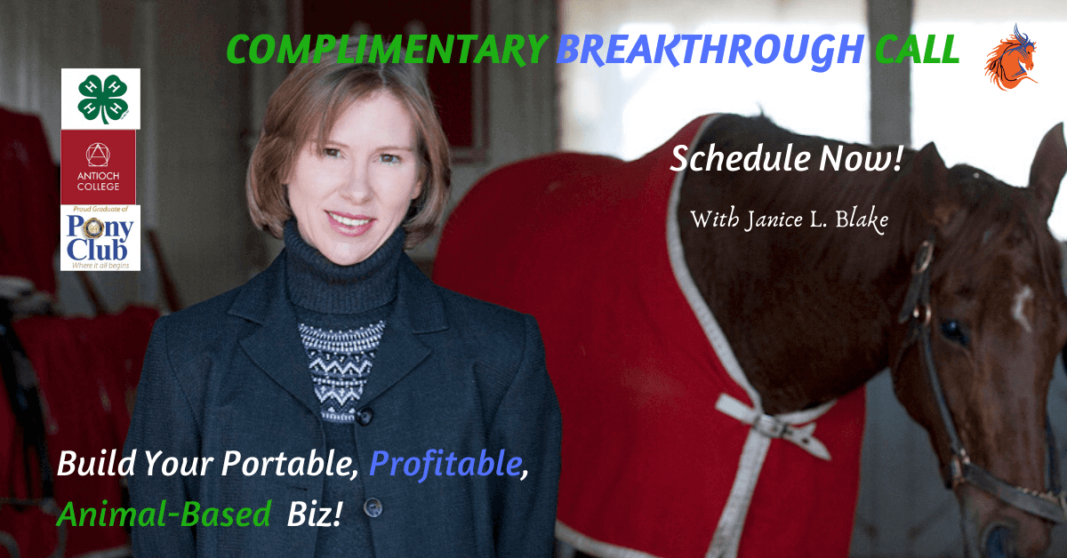 Janice L. Blake Breakthrough Call Your Mane Track