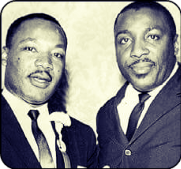 Martin Luther King-and-Dick Gregory-Janice-L.-Blake